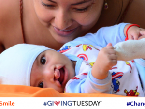 #GiveASmile for #GivingTuesday